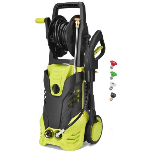 Electric Power Pressure Washer, 2030 PSI 1.7GPM High Pressure Washer Cleaner