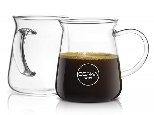 Osaka Borosilicate Glass Coffee Mug –