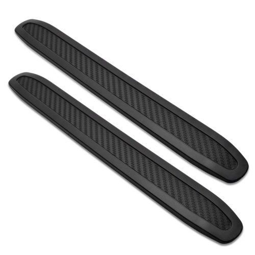 runmade Universal Black Anti-collision Patch Bumper Guard Strip Anti-scratch Bumper Protector Trim for Cars