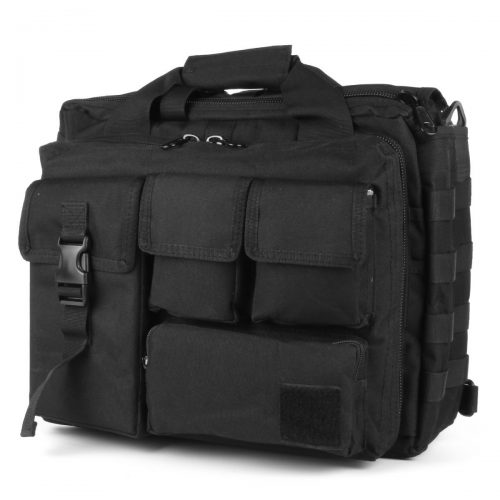 GES Multifunction Mens Outdoor Tactical Nylon Shoulder Laptop Messenger