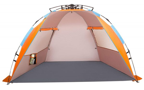 Oileus X-Large 4 Person Beach Tent Sun Shelter