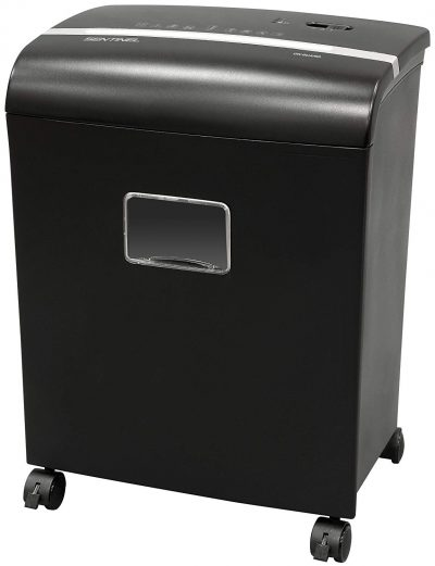 Sentinel FM121P 12-Sheet High Security Micro Cut Paper Credit Card Shredder