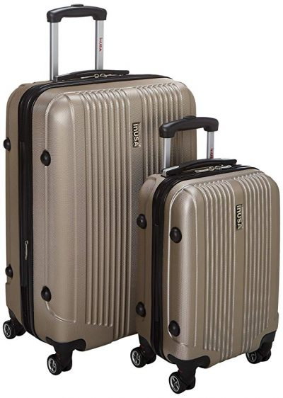 inUSA San Francisco SL 2-Piece Lightweight Hardside Spinner Luggage Set