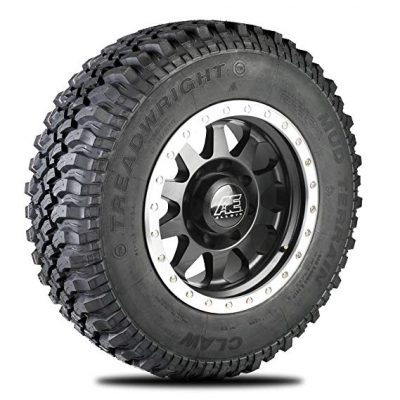 5. TreadWright CLAW M/T Tire with Premiere Tread Wear (40,000 miles):