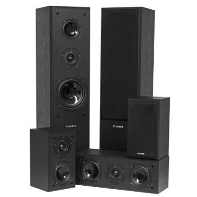 1. Fluance AVHTB Surround Sound Home Theater Speaker System: