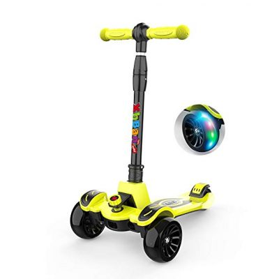 10. 3-Wheel Kids Scooter-Foldable from XHBAN: