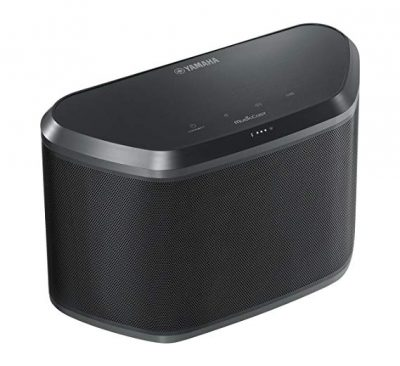 9. Yamaha WX-030BL MusicCast Wireless Speaker with Wi-Fi:
