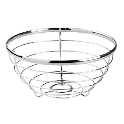 8. InterDesign Axis Fruit Bowl for Kitchen Countertops: