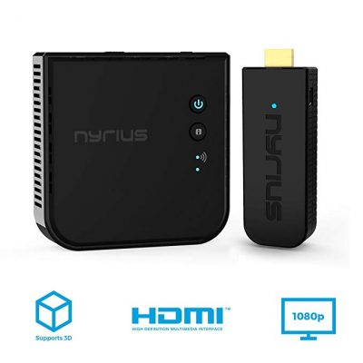 2. Nyrius Aries Pro Wireless HDMI Transmitter Receiver: