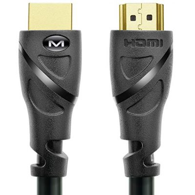6. Mediabridge HDMI Cable (25 Feet):