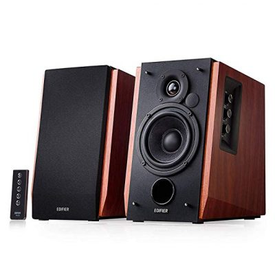 3. Edifier R1700BT Bluetooth Bookshelf Speakers: