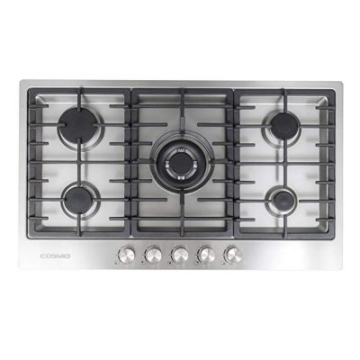 9. Cosmo VA-S950M Stainless Steel Gas Cooktop: