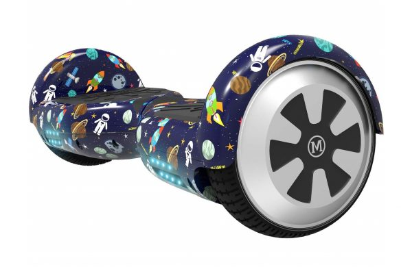 8. MEGAWHEELS Hoverboard - UL Certified Self Balancing Hover Board with Bluetooth Speaker & LED Light