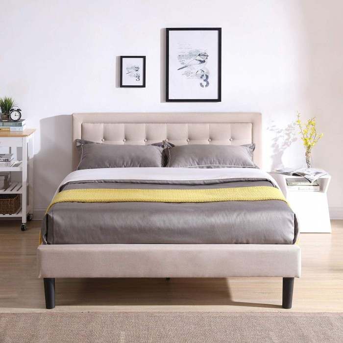 #15 Mornington Upholstered Platform Bed