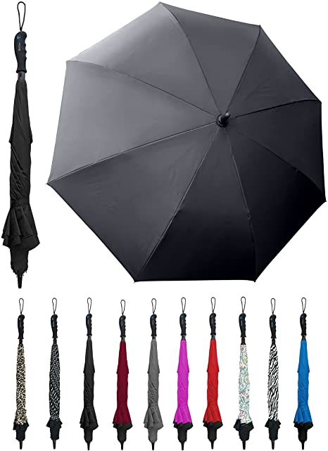 BetterBrella Wind proof Reverse Umbrella