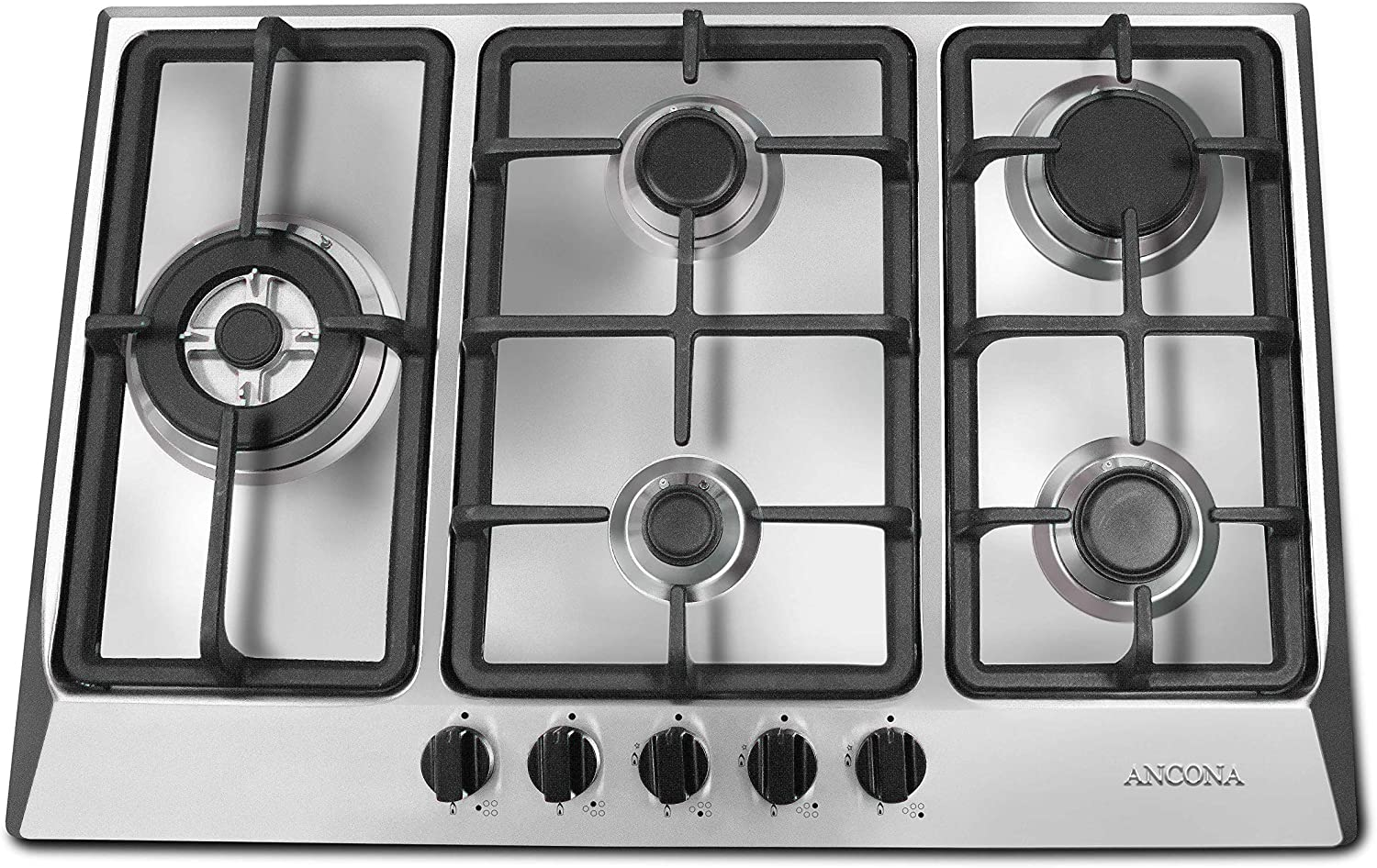 Ancona AN-21009 30″ Stainless Steel Gas Cooktop